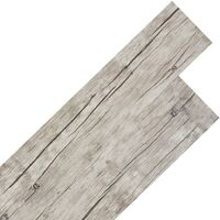 Self-adhesive PVC Flooring Planks 5.02 m² Oak Washed