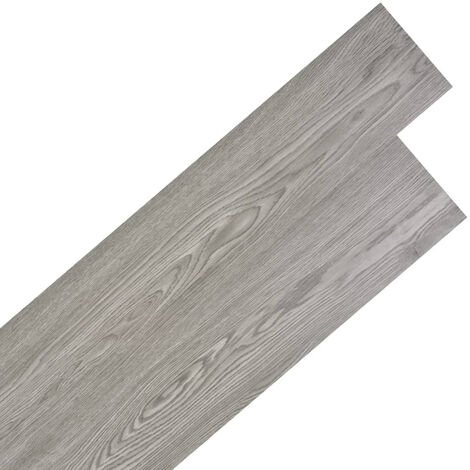 Self-adhesive PVC Flooring Planks 5.02 m2 2 mm Dark Grey