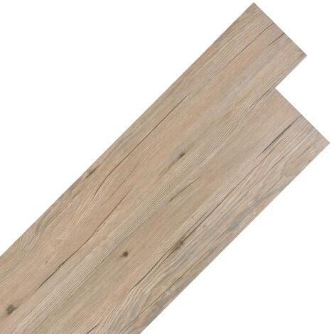 Self-adhesive PVC Flooring Planks 5.02 m2 2 mm Oak Brown
