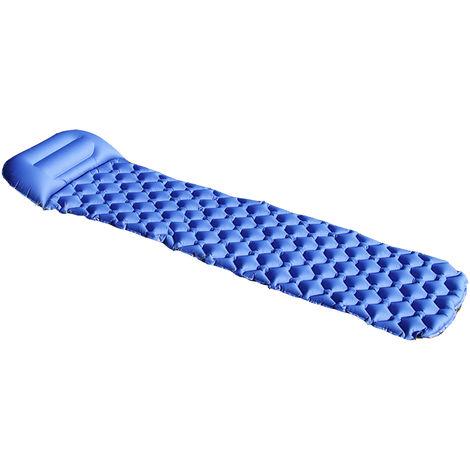 Self inflatable sleeping mattress ultralight camping pillow rollsheet mattress + bag