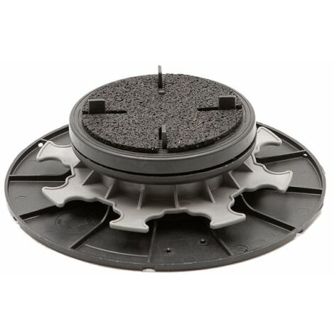 Self-leveling pedestal 55 75 mm for slabs, tiles or ceramics - Jouplast