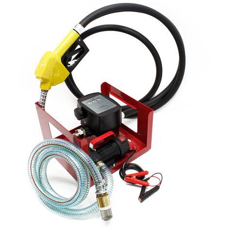 Self Priming Bio Fuel Oil Diesel 24V/150W 40l/min Transfer Pump H/D Portalbe