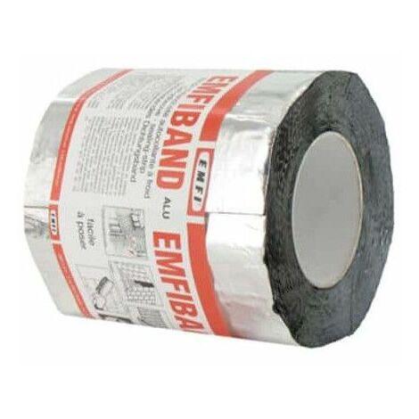 Sellado de cinta adhesiva en frío Alu EMFI 15cm x 10m