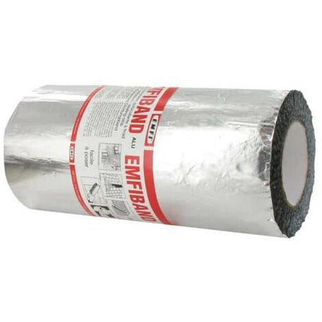 Sellado de cinta adhesiva en frío Alu EMFI 30cm x 10m