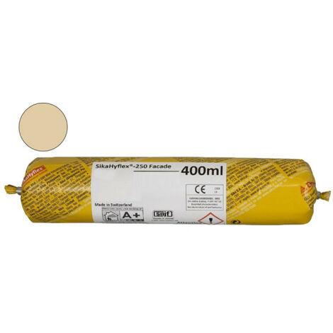 Sellador de alto rendimiento SIKA SikaHyflex 250 Frontal - Beige - 400ml - beige