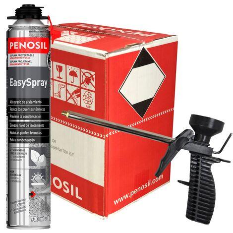 Sellador de Espuma Proyectable Caja 12 Unidades - PENOSIL EasySpray