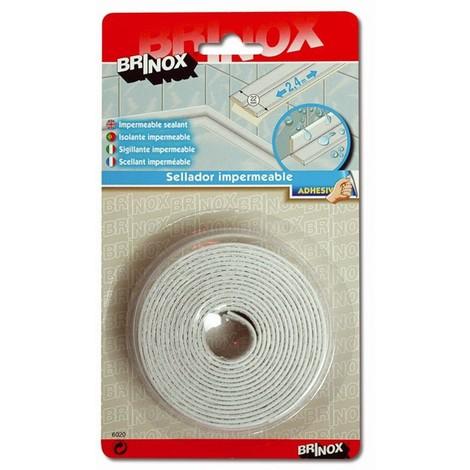 Sellador de Junta Adhesivo Impermeable 22mm - BRINOX - B60200B - 2,4 M