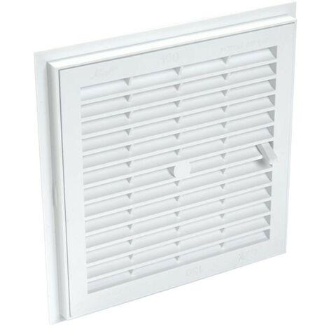 Sellador de PVC removible con cierre: Cuadrado 180x180, blanco
