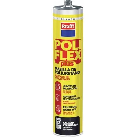 Sellador masilla 300 ml bl poliu. poliflexplus krafft