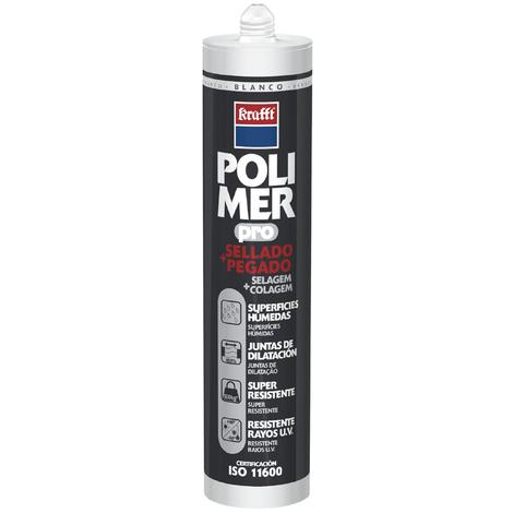 Sellador Poliuretano Blanco - POLIMER PRO - 59903 - 300 ML