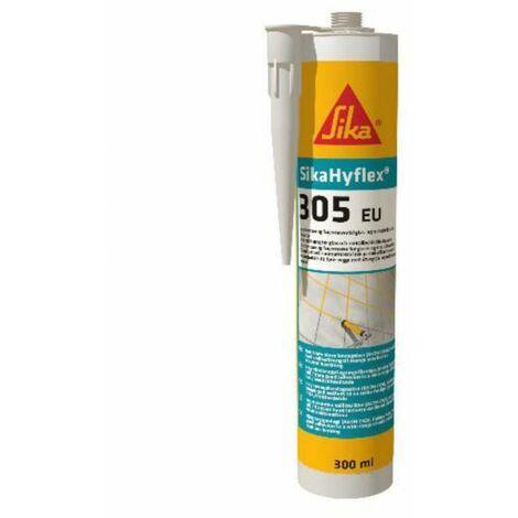 Sellador silicona neutra SIKAHYFLEX-305 EU negro 300 ml