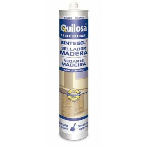 Sellador Sintetico Multiusos 300 Ml Blanco Sinteticoesel Quilosa
