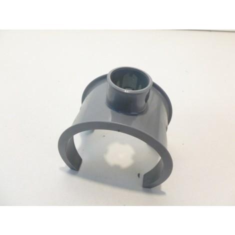 Selle 90° PVC grise Male/Femelle pour tube 80-75mm sortie diam 32mm NICOLL SL873