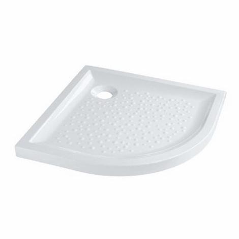 SELLES S0724200000 - Receveur douche céramique d'angle 90*90 extra plat, à poser