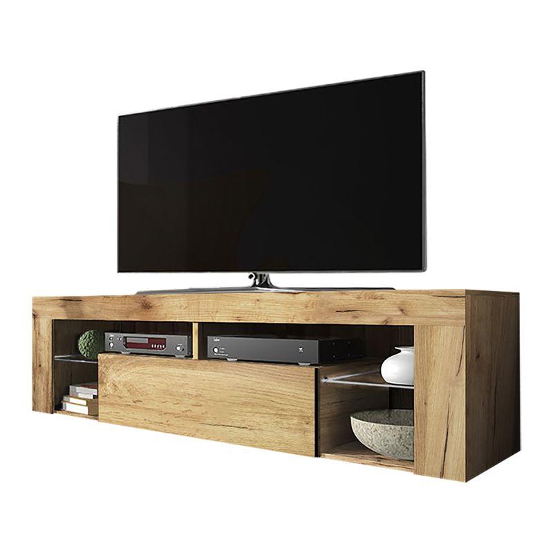 Selsey BIANKO - Mobile TV Moderno / Tavolino TV / Porta TV ...