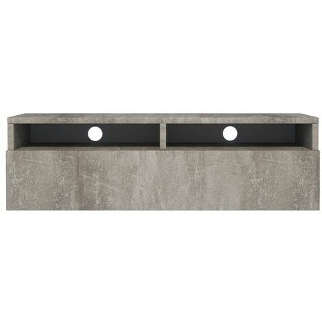 Selsey Rednaw - Mueble TV con cajón - Concreto - 100 cm