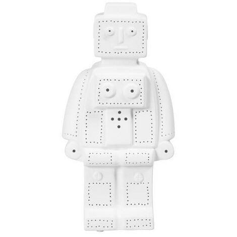 Lampe Blanche Porcelaine Sema Robot pSUMzVq