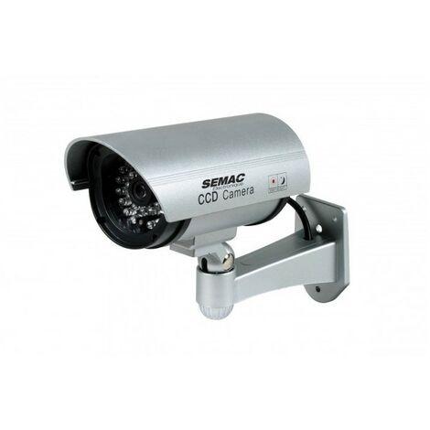 SEMAC CAMERA EXTERIEURE FACTICE LED CLIGN. CAM 562 Vidéo surveillance