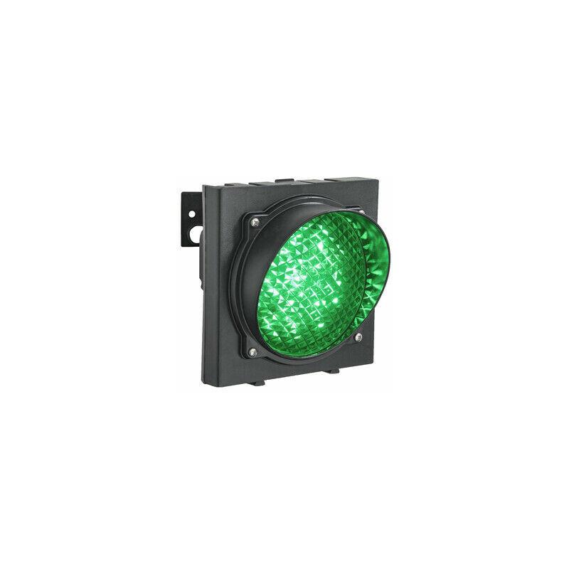 Semaforo Verde Singola 1 Luce 24v Led Lampada Monolampada Parcheggio Impianto