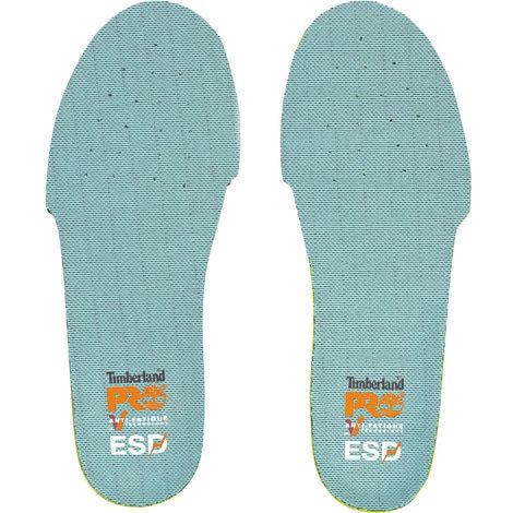 Semelles anti-fatigue Timberland Pro pour chaussures de sécurité