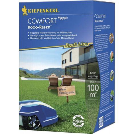 Semence pelouse spécifique pourpelouse tondu par robot 2kg Comfort Kiepenkerl