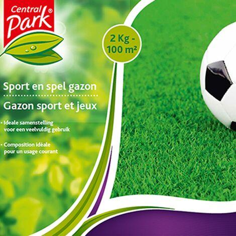 Semences de gazon Central Park - 'Sport et jeux' 2 kg