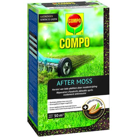 Semences de gazon Compo After Moss (50m²) 1kg