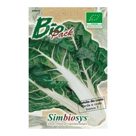 Semi Di Bietola Da Coste Verde A Costa Bianca 3 Biologica - L'ortolano