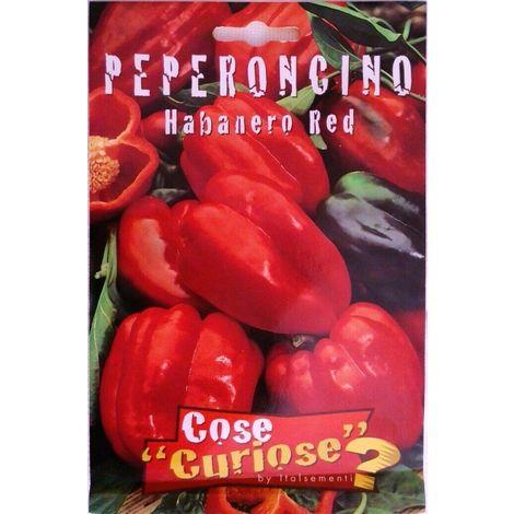 """main image of """"Semi di peperoncino habanero red certificati in confezione sigillata piccante"""""""