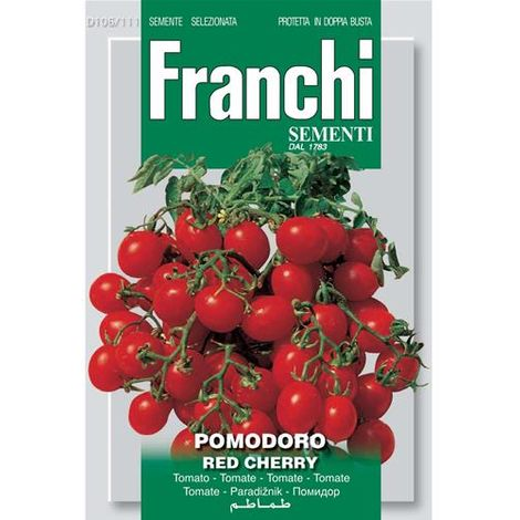 SEMI ORTO FRANCHI POMODORO RED CHERRY ART D106/111