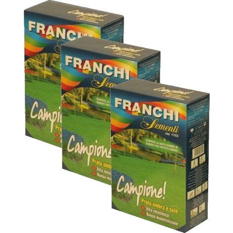 SEMI PRATO CAMPIONE FRANCHI -- OFFERTA 3 SCATOLE DA KG.1