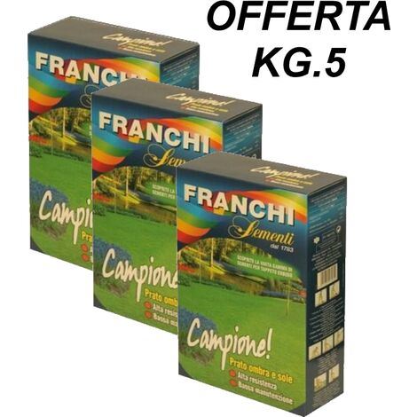 SEMI PRATO CAMPIONE FRANCHI -- OFFERTA SACCO KG.5