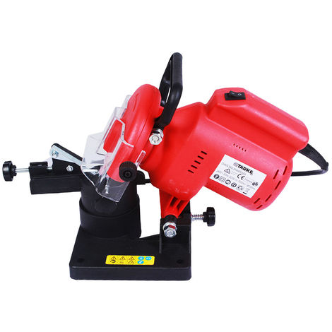 """main image of """"Semi-professional electric chain saw sharpener 220W, 7500RPM and 100 x 3.2 x10mm grinding wheel"""""""
