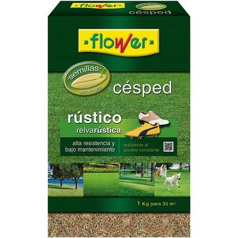 Semilla cesped rustico Flower 1 Kg