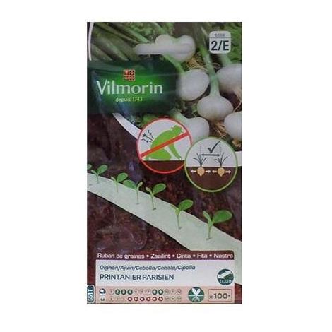 Semillas de CEBOLLA PRINTANIER PARISIEN Vilmorin (cultivo fácil)