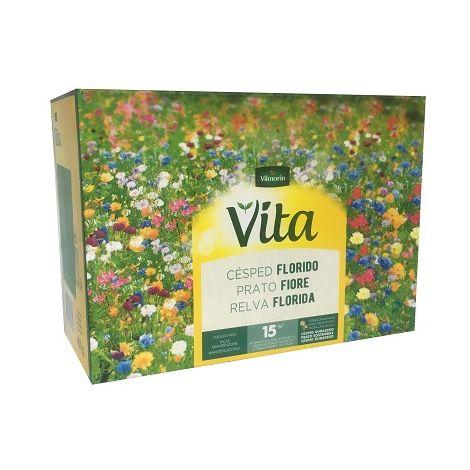 Semillas de Césped Florido para Jardín VITA 400 gr