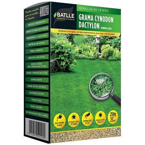 Semillas de césped grama cynodon dactilon 500 gr