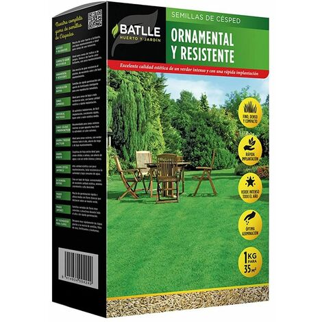 Semillas de césped ornamental y resistente 500 g