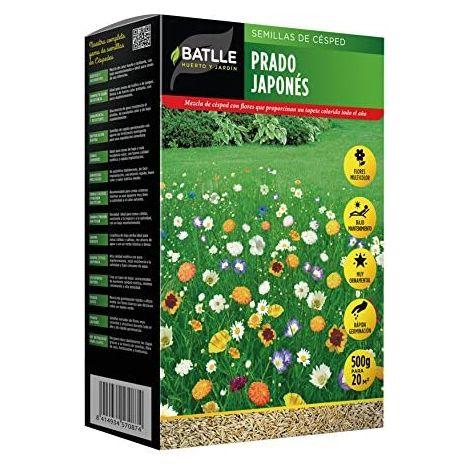 Semillas de césped prado japonés 500g (2 unidades)