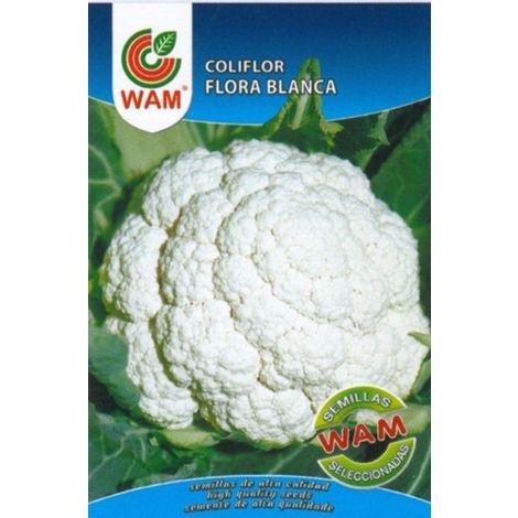 Semillas de Coliflor Flora Blanca WAM - Sobre 3 gr