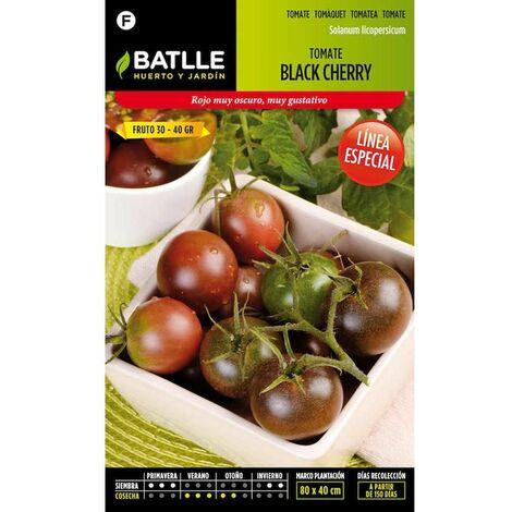 Semillas De Tomate Black Cherry