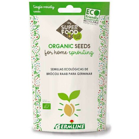 Semillas germinado Brócoli ECO Germline 100g