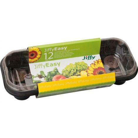 Semillero Invernadero + 12 Pastillas Turba