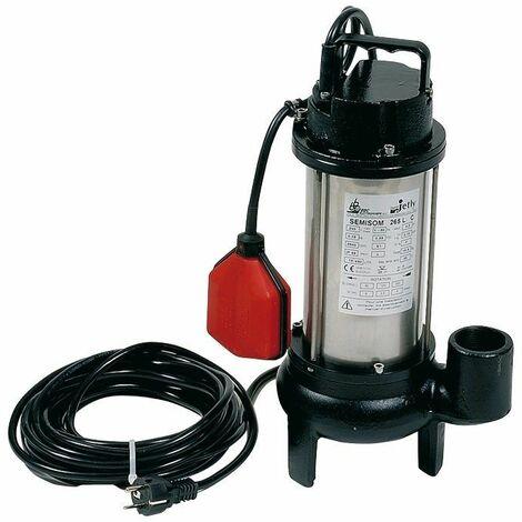 Semisom 265 AUT V de Jetly - Pompe de relevage eaux chargées
