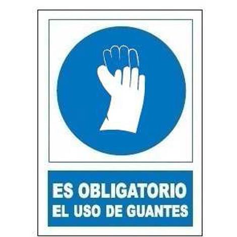 SEÑAL OBLIGATORIA USO GUANTES SO802 - JG SEÑALIZACION - SO-802..