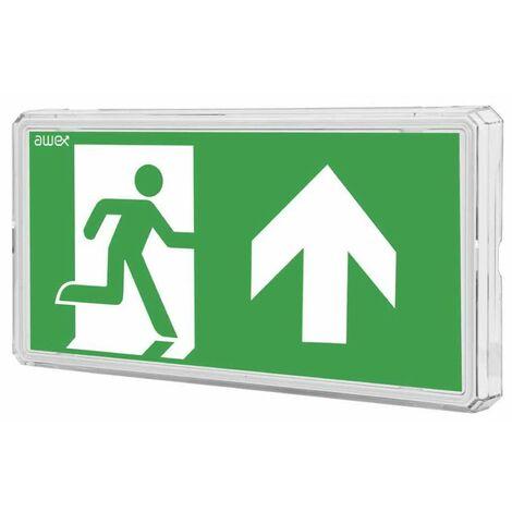 Señales de Evacuación para las luces de emergencia EXIT