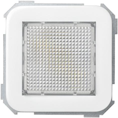 Señalizador luminoso difusor verde Serie 31 Blanco Nieve