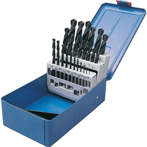 Senator 1-13mmx0.5mm Hss S/s R-f Drill Set