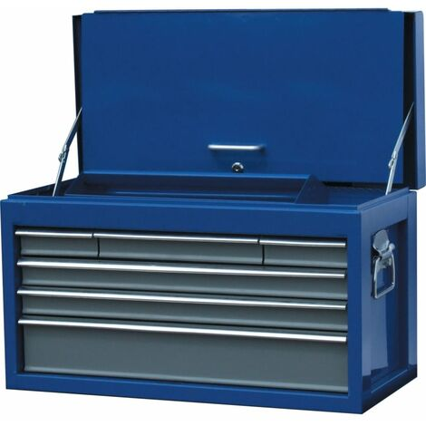 Senator 6-DRAWER Tool Chest Blue/ Grey