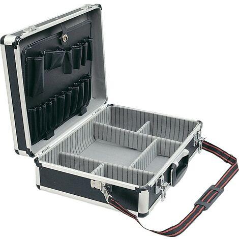 Senator Black Aluminium Tool Case